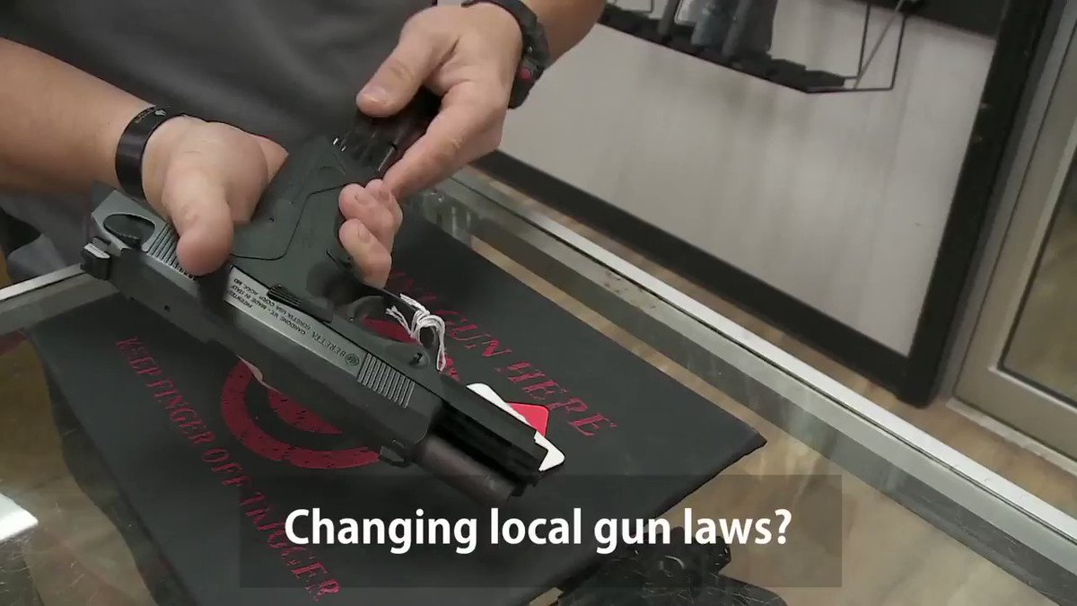 Changing local gun laws? What local officials CAN do and how it will impact you.
