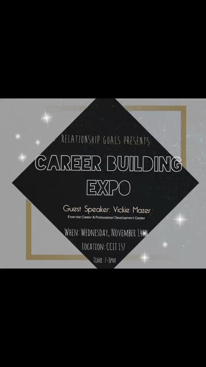 Come out this wednesday to chat with us + receive some great career building tips✨ CCIT 157 @ 7pm!