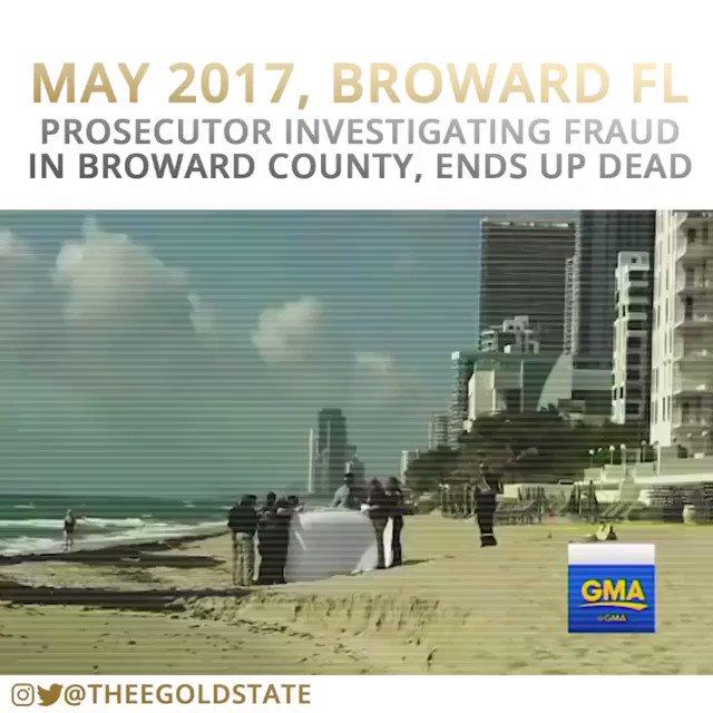 Remember this? ➡️ Federal Prosecutor investigating visa fraud in Debbie Wasserman Schultz's district shot himself In head . . . No gun was ever found! #TuesdayThoughts #Broward #again #Corruption #WednesdayMotivation #FlashbackFriday