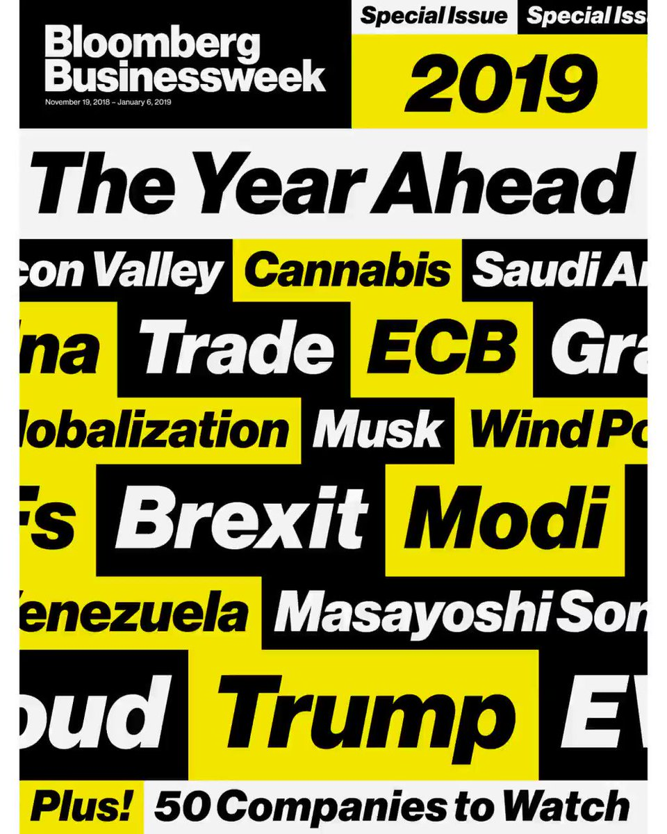 NEW COVER: Global growth should be strong in 2019, with a boost from the U.S. https://t.co/8mKDHReo4X https://t.co/rvL5TrJs8C