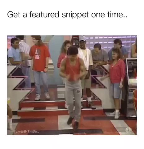 Get a featured snippet one time... #seo #smm #algo #google #seomemes
