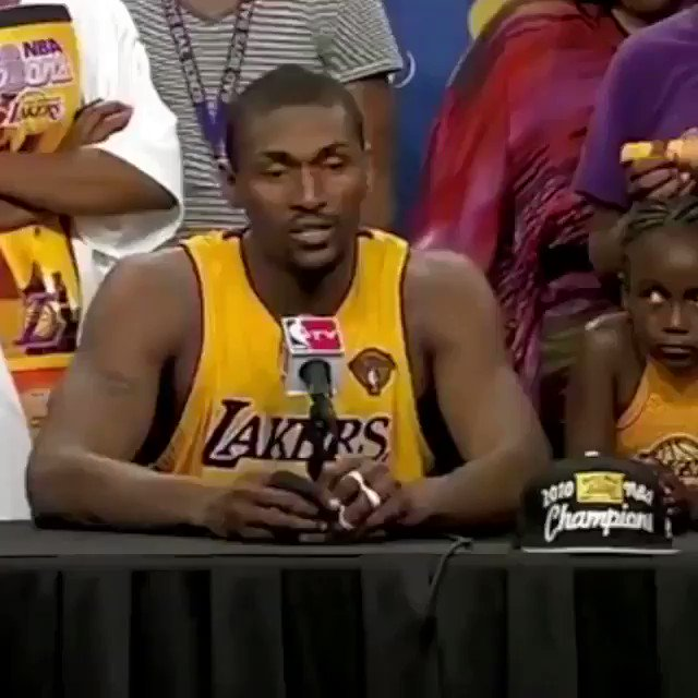 Happy birthday to the artist formerly known as Ron Artest, Metta World Peace!
