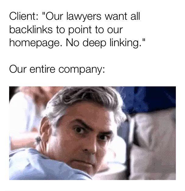 Noooooooooooo.. can ANY lawyer explain this one??This is a terrible idea on so many levels.#SEO #SEOfail #SEOmeme #SEOnightmare #SMM