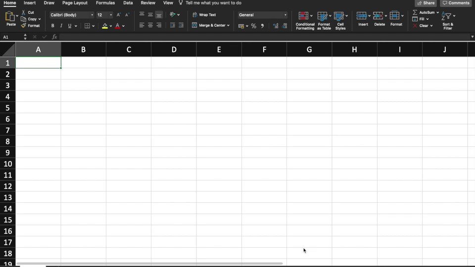 The @Data_Drum Excel add-in in action. Coming soon.