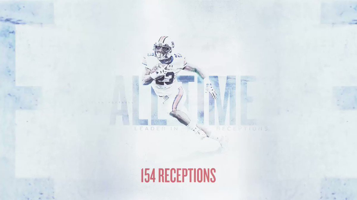 .@thaRD5 breaks everything. Records, ankles and even finds time to throw a few TDs.  #WarEagle https://t.co/jTjr0BMuj3