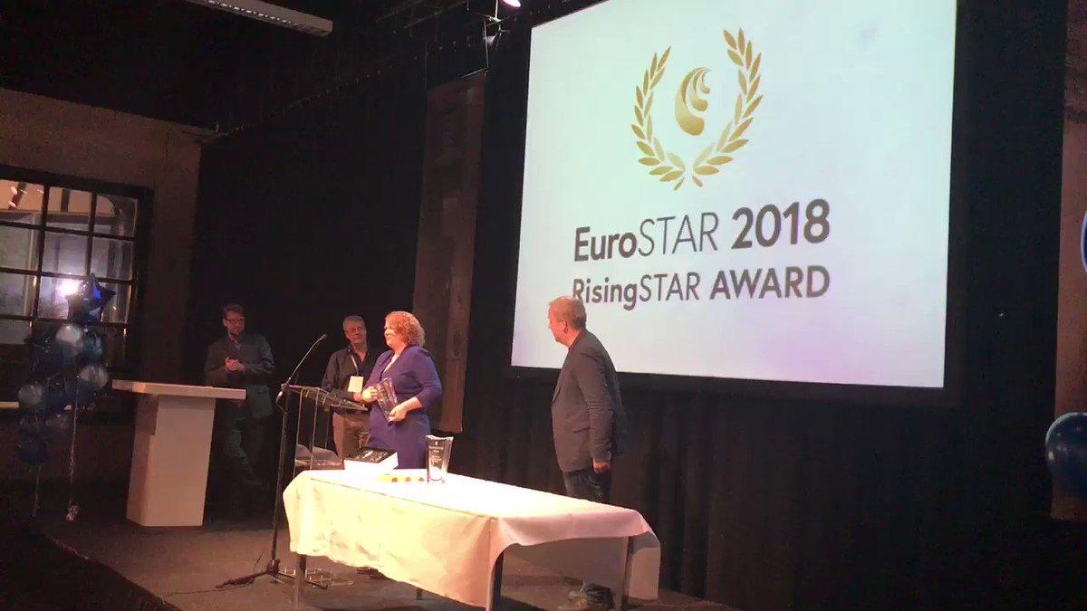 Image for the Tweet beginning: The inaugural #EuroSTARConf RisingSTAR Award