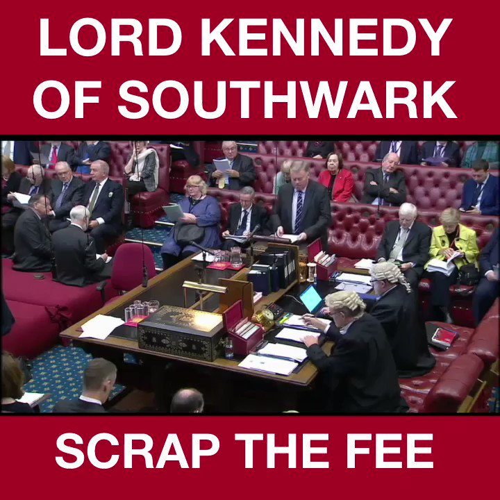 Today our Scrap The Fee campaign to outlaw GPs charging domestic violence victims up to £150 for legal aid referral letters has won the backing of Health Minister Lord OShaughnessy. Great work by my good friend @LordRoyKennedy. Help for DV victims should never have a price.