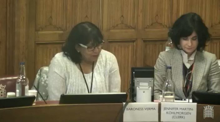 2/4 What will be the impact of #Brexit on the delivery of development and aid programmes in #Afghanistan? - @Baroness_Verma @AmbassadorJawad gives evidence at the European Union External Affairs Sub-Committee at the @UKHouseofLords, 15th of November 2018. #Brexit