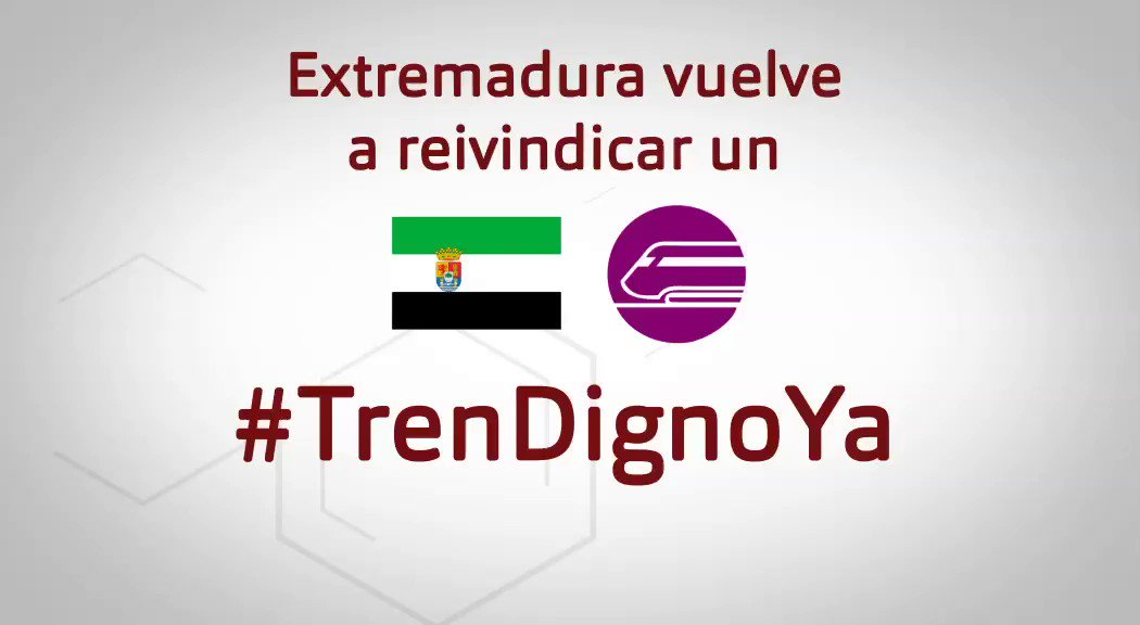 🚂Si este fin de semana vas a manifestarte para reclamar un #trendignoYa para #Extremadura, cuéntanoslo📢👇  #EXN https://t.co/WoNBAywnRt