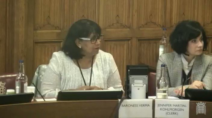 4/4 Could you please share examples of successful projects regarding UK aid to trade in #Afghanistan? - Julia King, Baroness Brown of Cambridge @AmbassadorJawad gives evidence at the European Union External Affairs Sub-Committee at the @UKHouseofLords, Nov 15, 2018. #Brexit