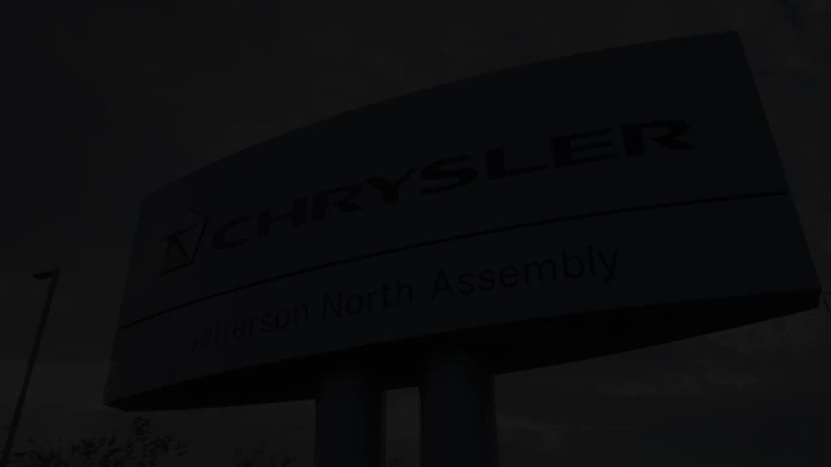 Image for the Tweet beginning: The only automotive assembly plant