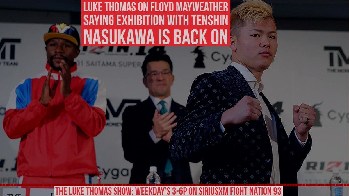 I cant stand anything about it - @lthomasnews explains why the Floyd Mayweather / Tenshin Nasukawa exhibition is a con to combat sports fans #TLTS