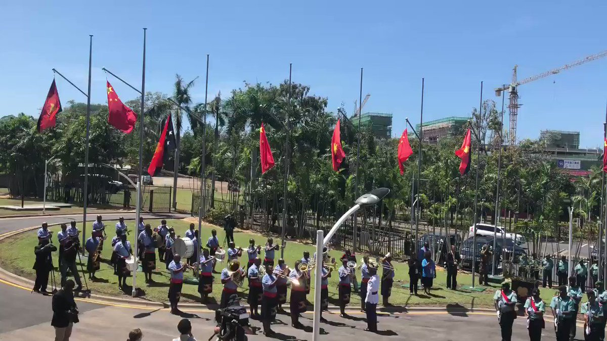 PNG police, soldiers storm parliament over unpaid APEC bonuses