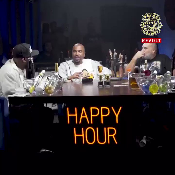 New #DrinkChamps episode on @RevoltTV now! Tune in! https://t.co/QmSikMCuSF