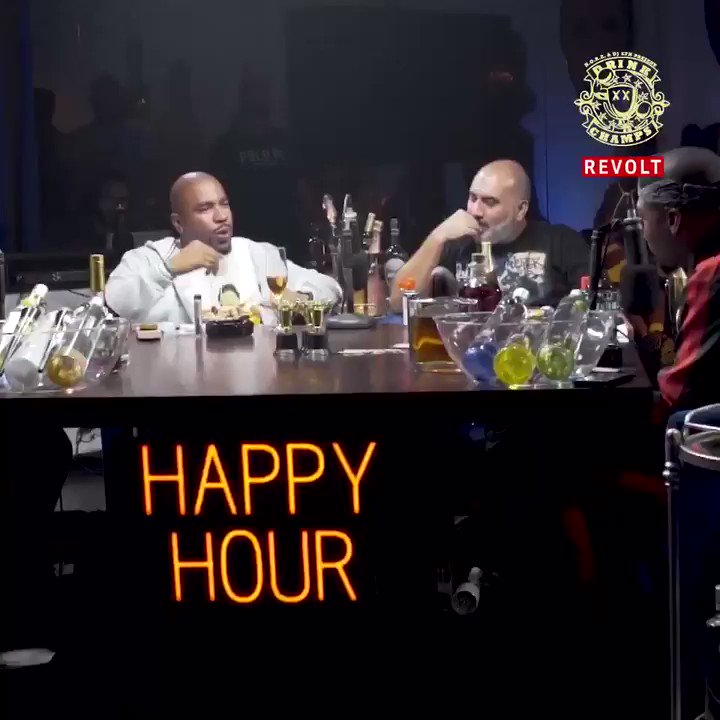 Come on #DrinkChamps We're for the culture! Watch now on #RevoltTv #HappyHour @Drinkchamps https://t.co/hc6IeobnUA