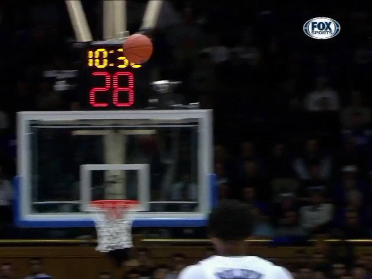 How high can Zion Williamson jump?  He'd still be able to dunk if they raised the rim this much �� https://t.co/6MbWglm85j