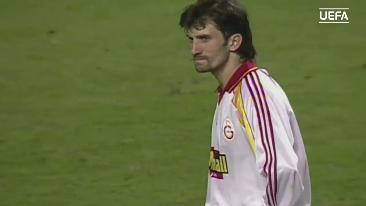 The penalty shootout between Arsenal and Galatasaray on the 1999/00 UEFA Cup final!
