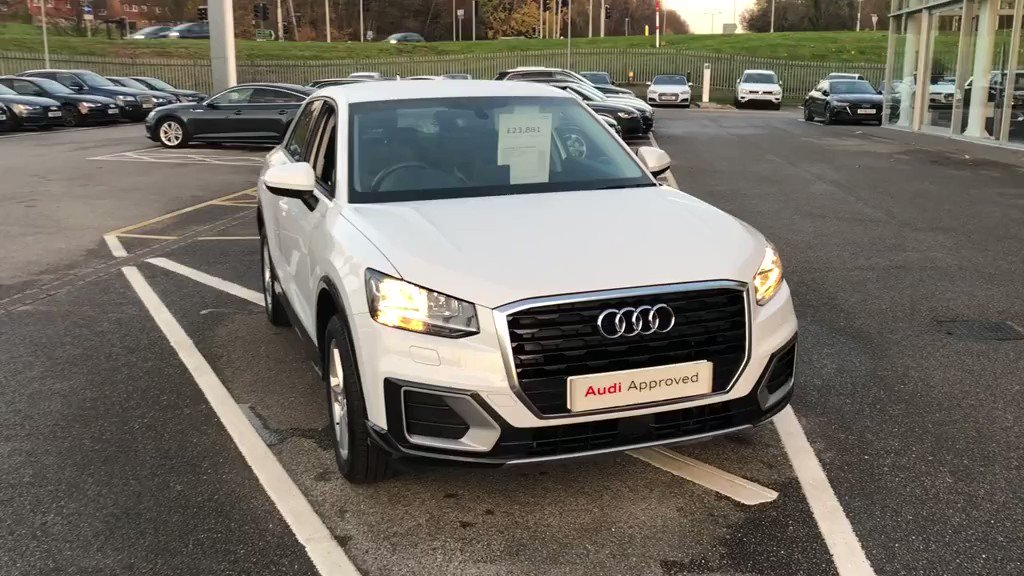 Our #ApprovedUsed #AudiQ2 is looking for a new home this winter! Its currently priced at £23,881 and ready now. Call us today to arrange your test drive, discuss finance or book an appointment.