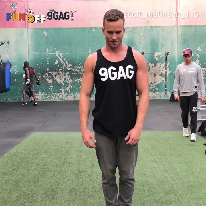🔊Calling all the gym rats 💪🏽: Join 9GAG Fun Off video contest to win $10,000 USD and get famous! Submit your workout videos to funoff.9gag.com now! - Thanks @scottmathison_ for the #9GAGFunOff shoutout video!