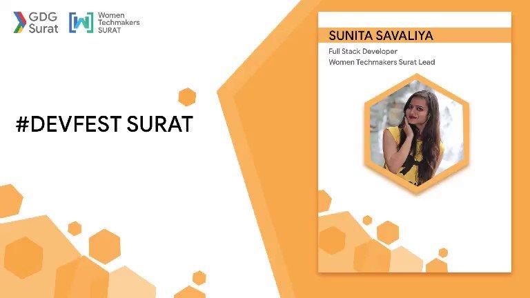 Image for the Tweet beginning: .@GDG_Surat is hosting their 1st