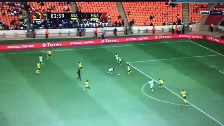 Musas goal ruled offside. #RSANGA