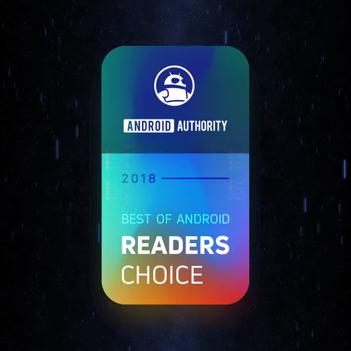 Image for the Tweet beginning: Best of Android Reader's Choice