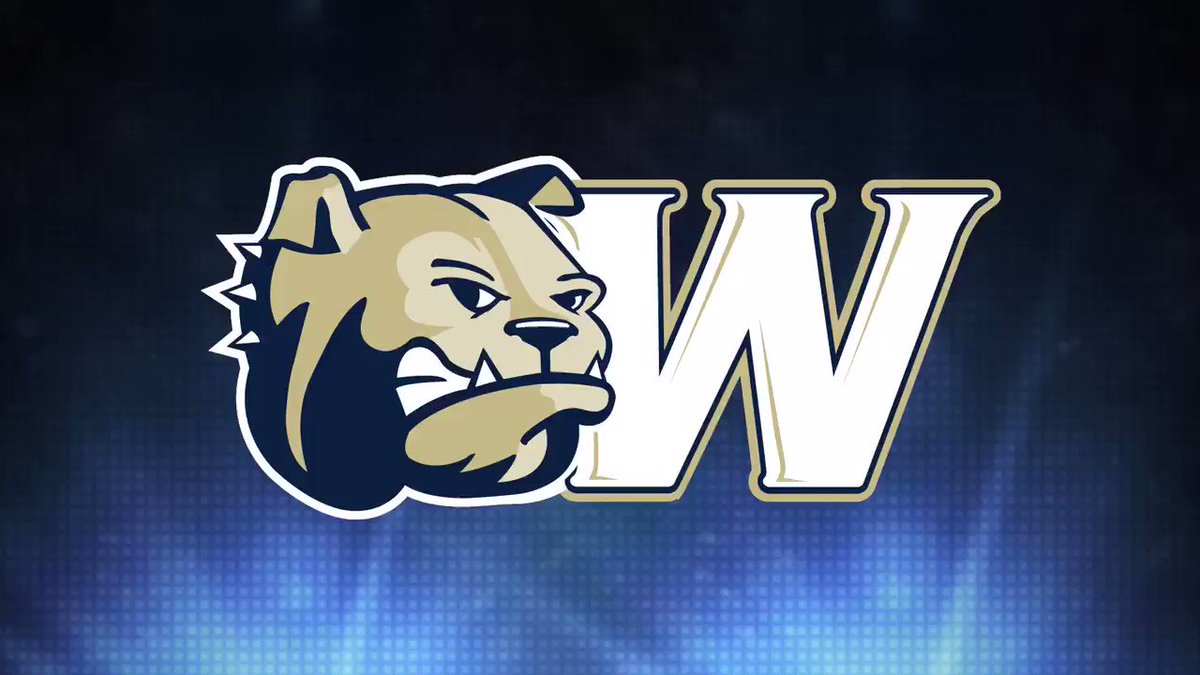 TOUCHDOWN BULLDOGS!!! Dom McNeil carries defenders into the end zone for another #WUFB touchdown!! Bulldogs are up 41-31 with 5 minutes left to play!