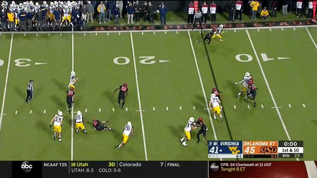 #okstate wins 45-41. Unbelievable game in Stillwater. https://t.co/kRar0VfDfS