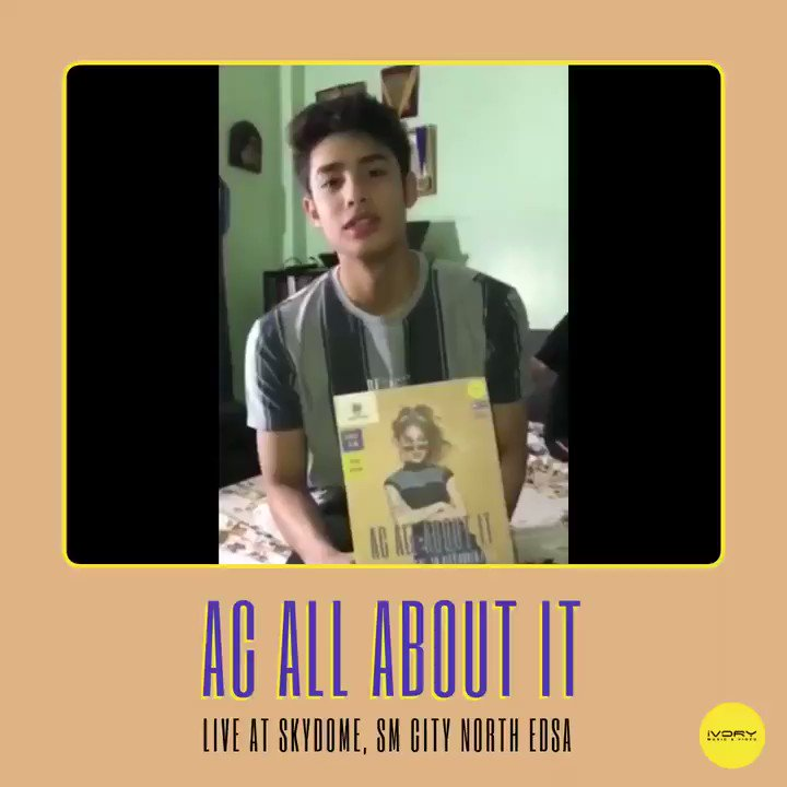 Playhouse leading man and MYX VJ, @donnypangilinan, is inviting you to @BonifacioAc's 16th birthday celebration, AC ALL ABOUT IT: Live at Skydome, SM City North EDSA on December 14, 2018! Tickets are available at all SM Tickets Outlets! #ACAllAboutIt #ACBonifacio