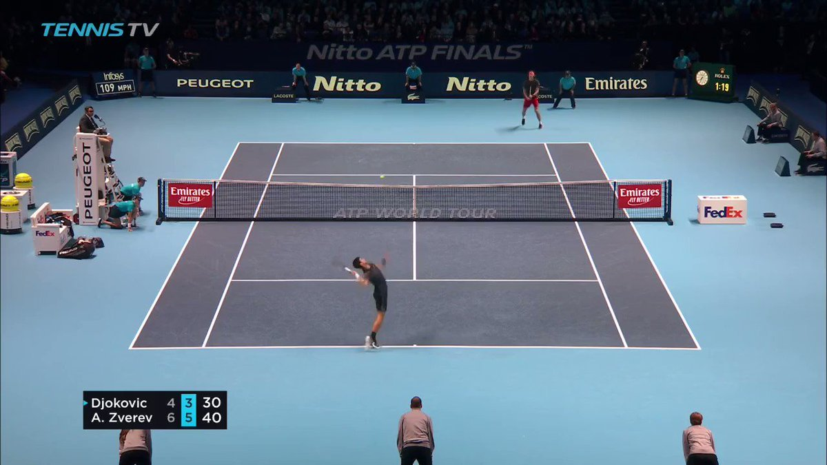 Novak Djokovic verliest ATP finale