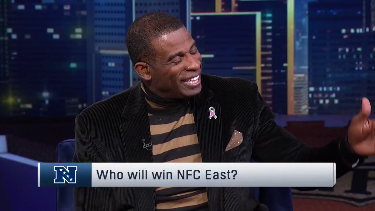 .@DeionSanders thinks the #Redskins will win the NFC East. Do you agree?
