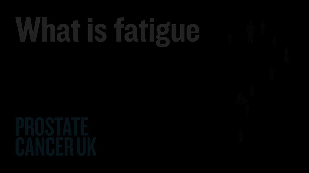 Do you know about fatigue in prostate cancer? Share our video that explains what fatigue is, how it might affect you, and what you can do to manage it.
