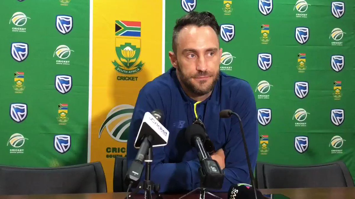 RT @SACricketmag: WATCH: @faf1307 explains the situation Australia find themselves in.  'They were tame'. #AUSvSA https://t.co/wpMlqaL4aA