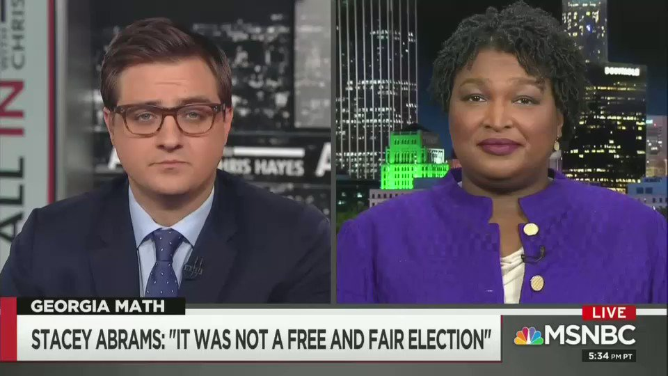 Stacey Abrams says she isn't going anywhere, plans to run for office again. #ctl #p2