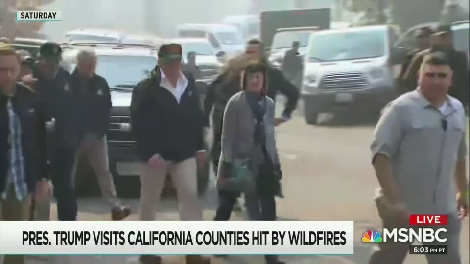 Rachel Maddow obliterates Trump's 'toxic' response to the deadly wildfires in California. #ctl #p2 #Maddow