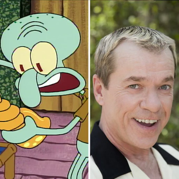 Happy Birthday to Rodger Bumpass, the voice of Squidward! Now, where\s his soufflé?