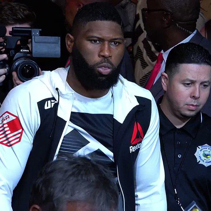 POWER in every shot!  🇺🇸 @RazorBlaydes265 vs 🇨🇲 @Francis_Ngannou LIVE on @UFCFightPass this Saturday. #UFCBeijing
