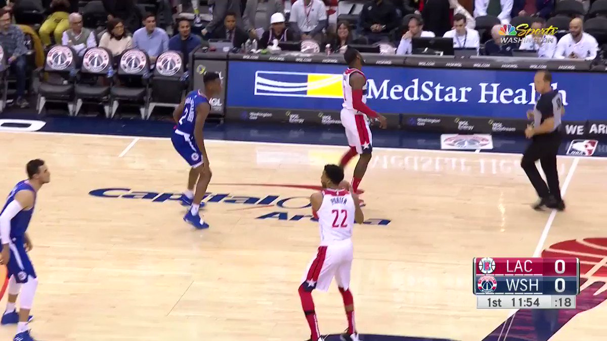 Starting up on #NBA League Pass... Bradley Beal finds Thomas Bryant up top! #DCFamily  WATCH: http://nba.app.link/e/DAE7gCqKkR