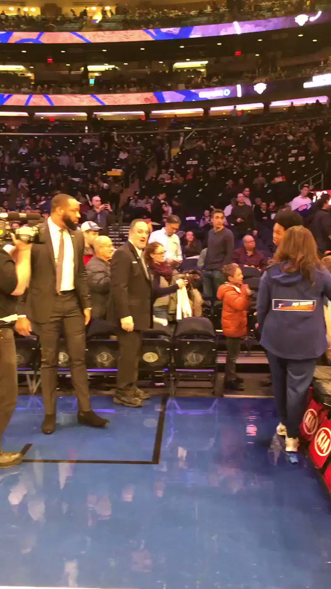 #RipCity takes the floor in NY!  📺: @NBATV