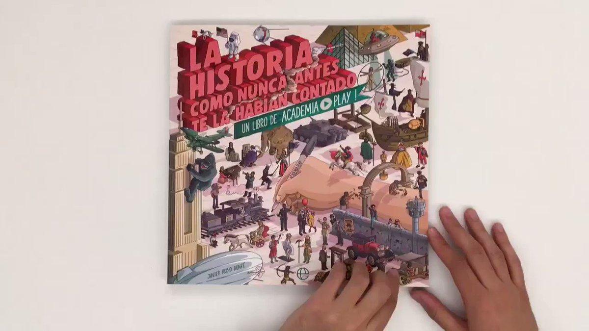 La historia como nunca antes te la habían contado  ¿Dónde comprar el libro de @Academiaplay?  Amazon: http://goo.gl/B54Vkn Casa del Libro: http://goo.gl/Z9bPHs Tienda Academia Play: http://goo.gl/Y8Q8iR FNAC: http://goo.gl/sz12Qo   Y en tu librería de confianza...