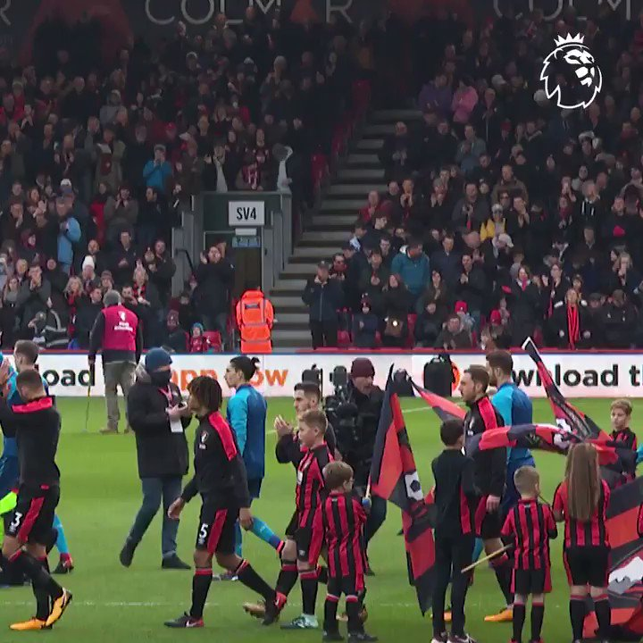 Remember this one?  @afcbournemouth and Arsenal meet again on Sunday...