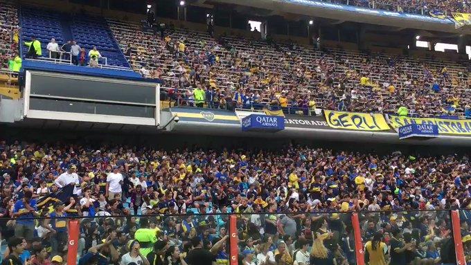 """Το κατάμεστο από 50.000 φίλους της Μπόκα Τζούνιος, """"Bombonera"""", δύο μέρες πριν τον τελικό! (photo + videos)"""