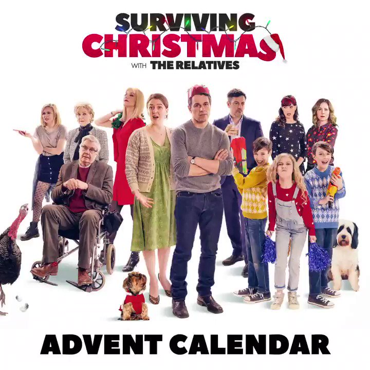 Surviving Christmas.Surviving Christmas With The Relatives On Twitter Santa