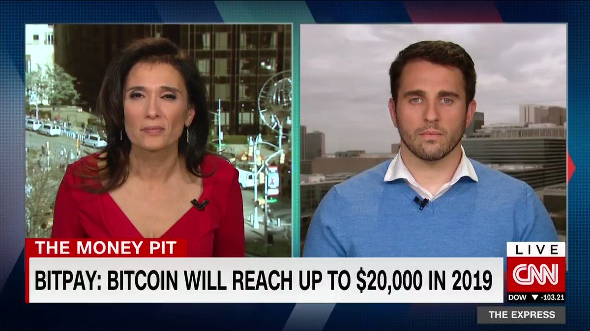 Went on @cnni to talk about why Bitcoin isn't dead.  Don't listen to the noise. Focus on the fundamentals. https://t.co/hgwR7eyhND