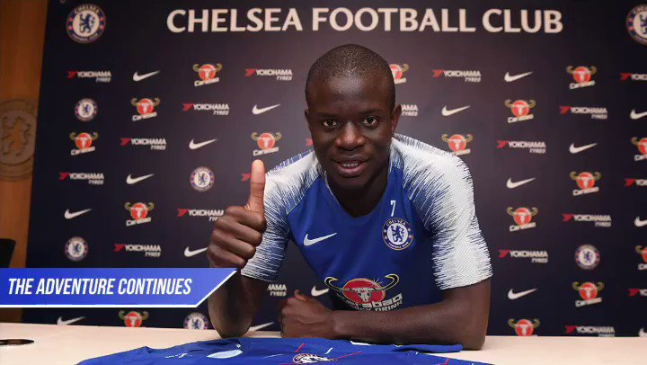 I have chosen to join @chelseafc in 2016 as it has always been my priority. I want to thank the Management of the Club, the President and my agent for making this agreement possible. I am grateful to my teammates and to our amazing fans as the adventure continues. Common' Chelsea