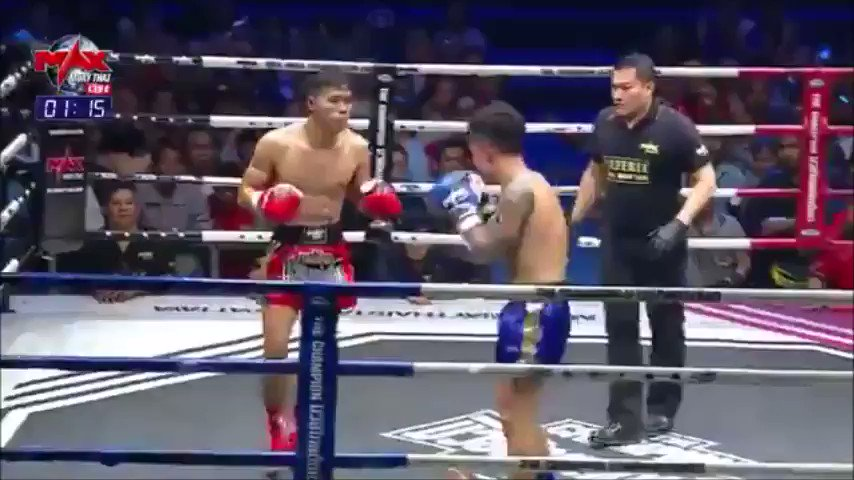 Fighter Knocks Out Both Opponent and Referee with 1 Combination