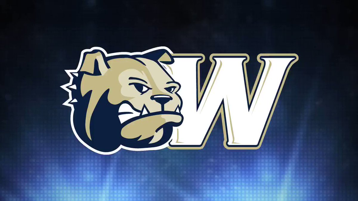TOUCHDOWN BULLDOGS!!! Crocker to Mitchell for 61 yards!!!!! #WUFB leads 17-14 with 3 minutes to play!