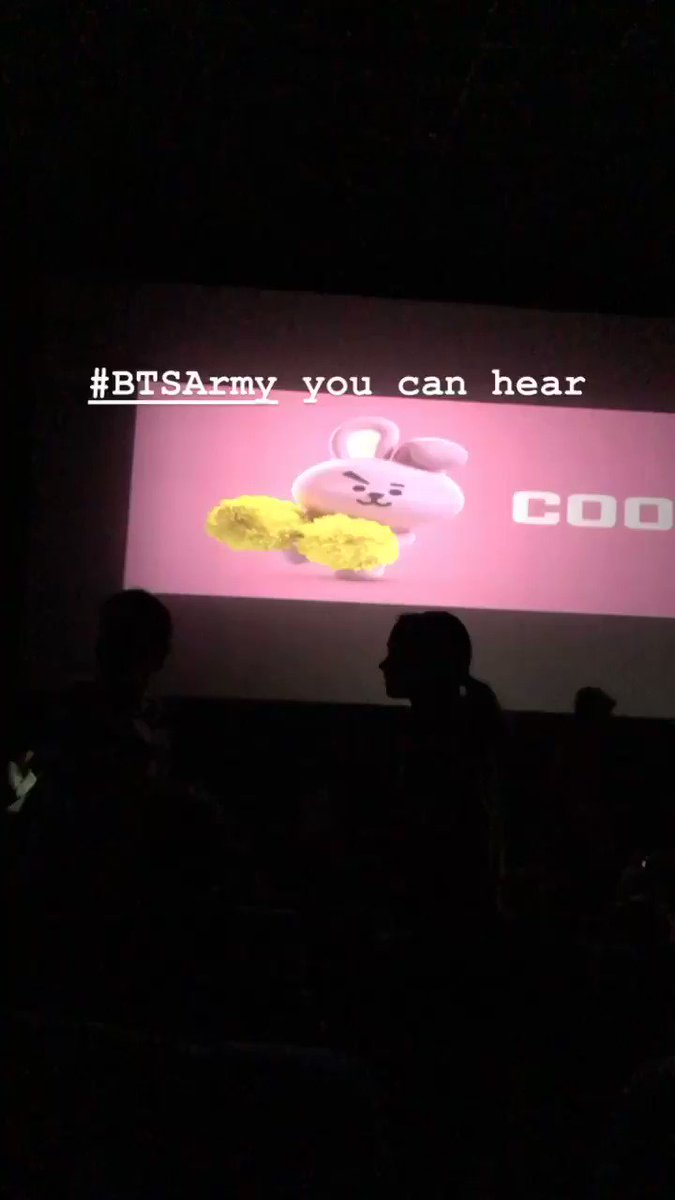 You hear that chant thats India for you @bts_bighit @BTS_twt #BTSArmy #bangtan #BurnTheStage #BurnTheStageTheMovie @INOXMovies thanks for this experience😍