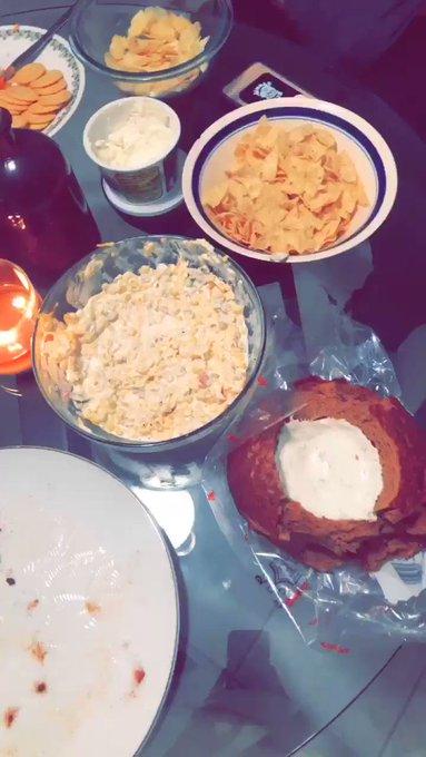 The dinner I prepared. https://t.co/4hNRy77Uj3