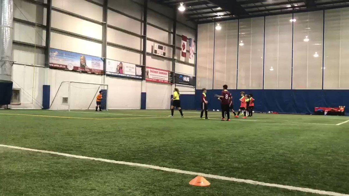 Penalty kick time! ⚽️   @Oakville_Soccer @tfcacademy @OntarioIsSoccer @CSL_Soccer #Oakville #Soccer #OakvilleMoms #OntarioSoccer #Oakvillesoccer #CanadianSoccer